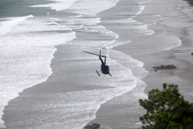 Helicopter tour Costa Rica
