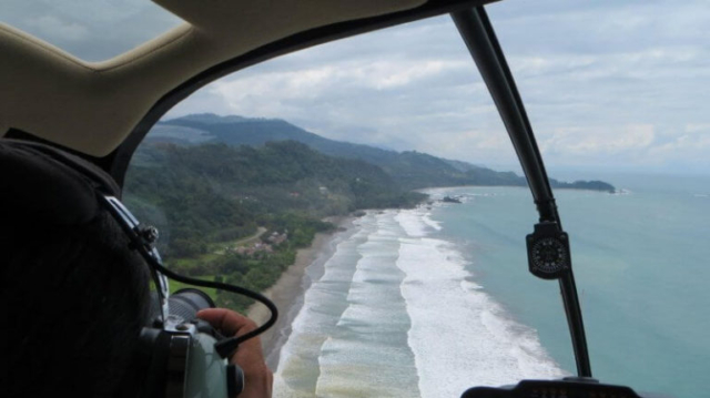 Helicopter Tour Costa Rica 7